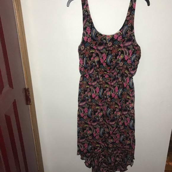 Mudd Dresses & Skirts - Mudd Floral paisley High Low Dress